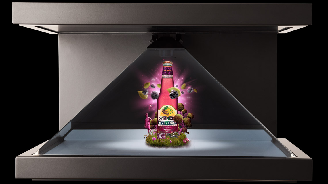 somersby blackberry pandora 3d animation