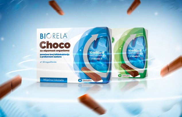 Biorela chocco product