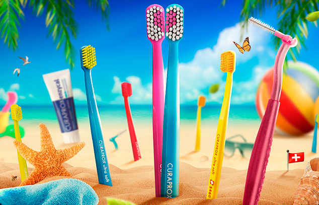 Curaprox toothbrushes retouch